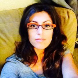 Elise orange glasses cover photo